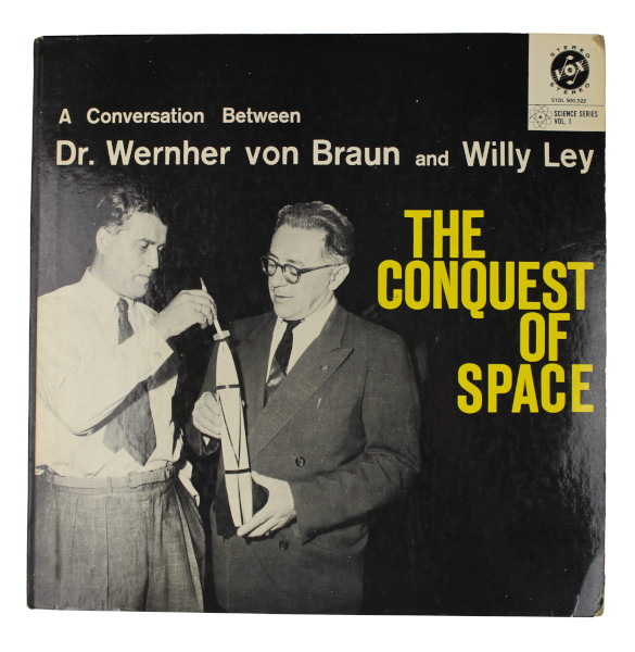 image The Conquest of Space Vinyl Record (Front)