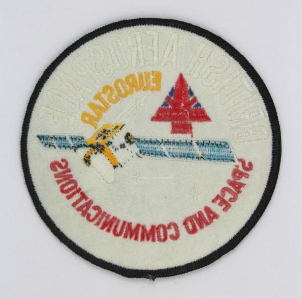 image British Aerospace EUROSTAR Mission Patch - Back
