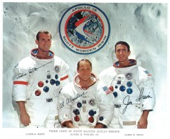 Signed NASA Photograph of Apollo 15 Crew
