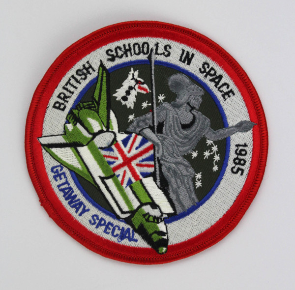 image British Schools in Space Mission Patch - Front