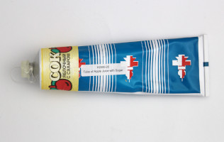 Russian Space Food – Tube of Apple Juice with Sugar