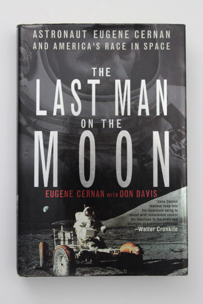 image 'The Last Man on the Moon' Hardback Book Signed by Gene Cernan