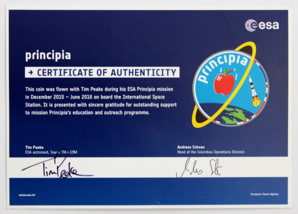 image Certificate of Authenticity