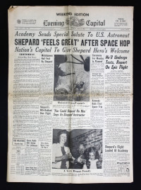 Weekend Edition Evening Capital 6 May 1961