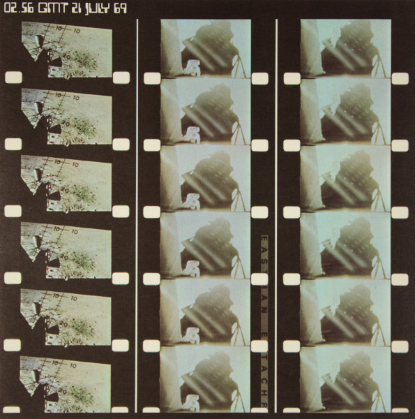 image Contact sheet of photographs from Apollo 11