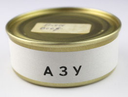 Russian Space Food – Small Tin of Fried Beef