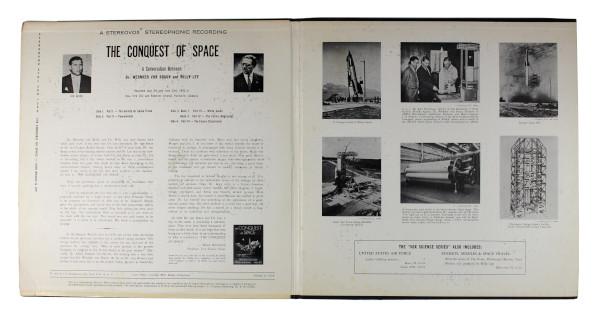 image The Conquest of Space Vinyl Record (inside sleeve)