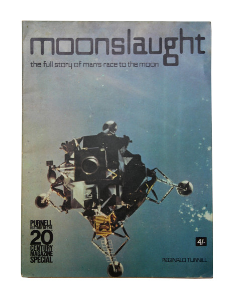 image Front cover: One of the first photographs of the lunar module in space during the Apollo 9 mission.