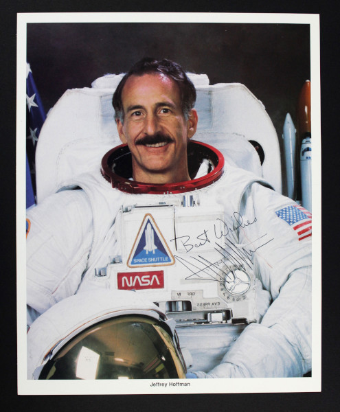 image Signed NASA Photograph of Jeffrey Hoffman