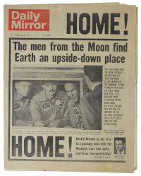 Daily Mirror 25 July 1969