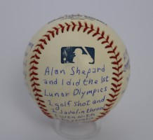 Major League Baseball signed by Ed Mitchell