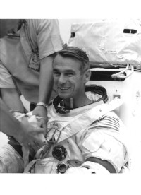 NASA Photograph of Gene Cernan