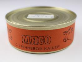 Russian Space Food – Large Tin of Meat with Buckwheat Porridge