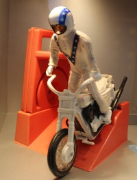 Evel Knievel Doll and Stunt Cycle
