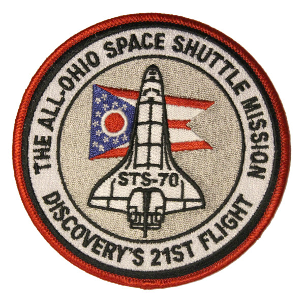 image The All-Ohio Space Shuttle Mission Patch