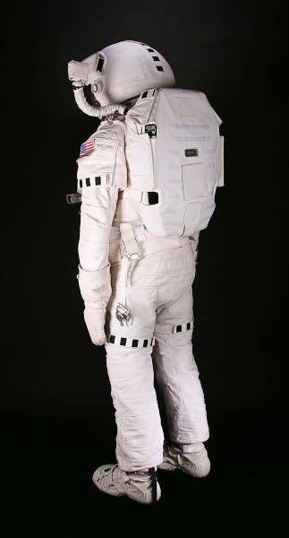 image Matt Damon's EVA spacesuit from the Ridley Scott film, 'The Martian'