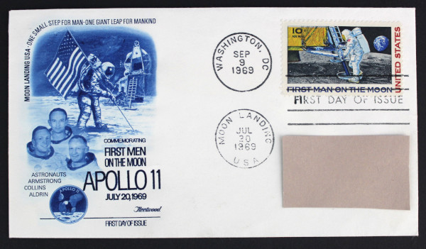 image Apollo 11 First Day Cover