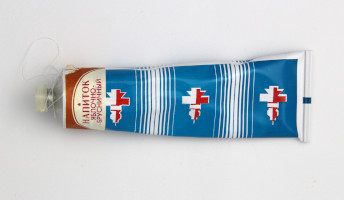 Russian Space Food – Tube of Apple and Red Bilberry Drink