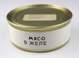 Russian Space Food – Small Tin of Jellied Meat