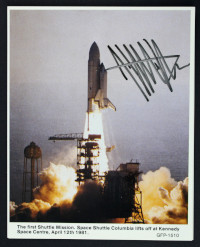 Collection of Nine NASA Postcards Signed by Jeffrey Hoffman