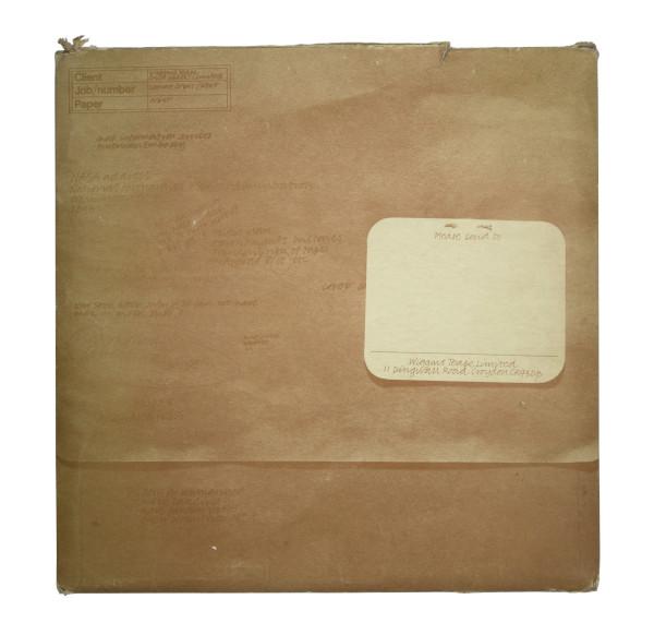 image Wiggins Teape Ltd. Lunar Orbit Promotional Pack original envelope