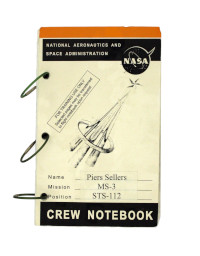 Piers Sellers' Crew Notebook from the Mission STS-112