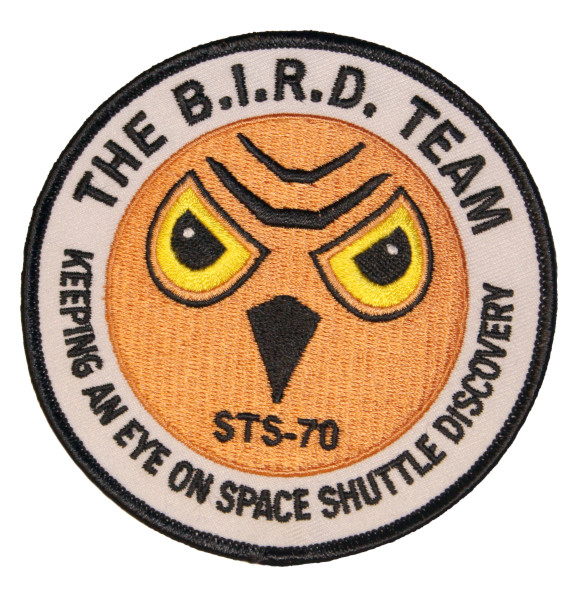 image The B.I.R.D Team Mission Patch