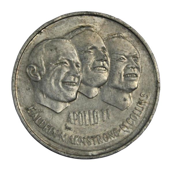 image Canadian Apollo 11 Commemorative Coin (front)