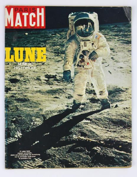 image Paris Match Magazine, No. 1058, 16 August 1969 (front)