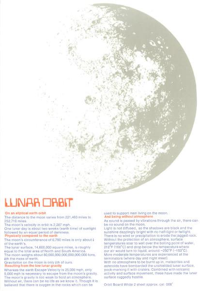 image A fact sheet about lunar orbit
