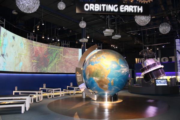 image Meteosat 7 satellite in the Orbiting Earth gallery