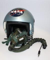 Piers Sellers' NASA T-38 Flight Helmet and Oxygen Mask